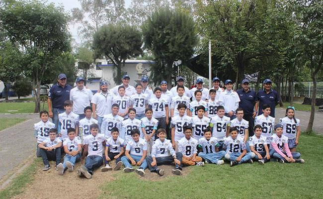 Los Gamos México se preparan para la liga de Futbol Americano del Estado de México