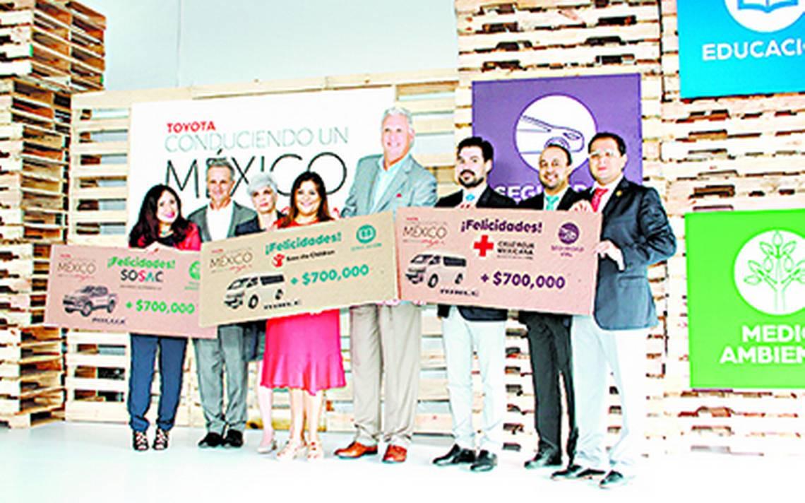 """Toyota impulsa seguridad vial con programa """"Conduciendo un México Mejor"""""""