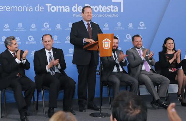 Edomex, primer lugar nacional  en actividad industrial: Eruviel