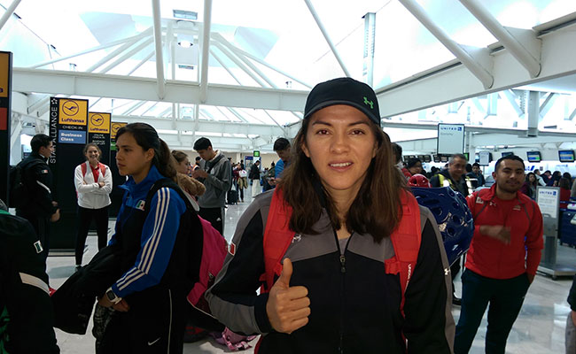 María Espinoza es duda para  Campeonato Mundial de Muju