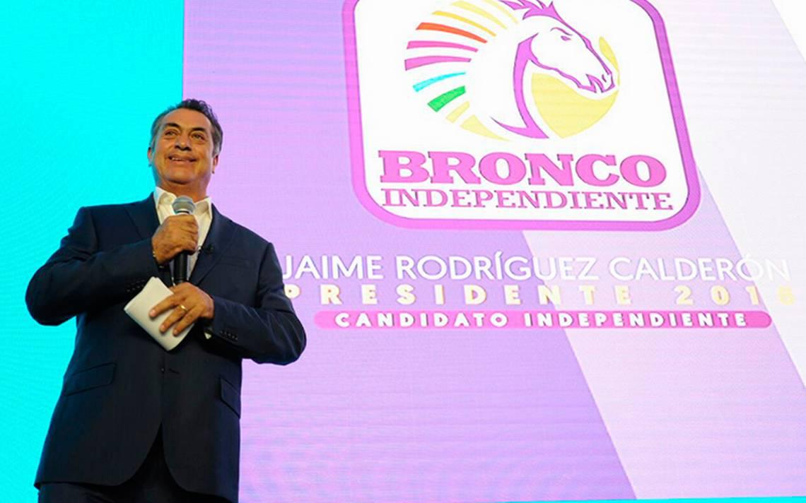 INE sanciona a El Bronco por irregularidades y pide a PGR investigue recolección de firmas