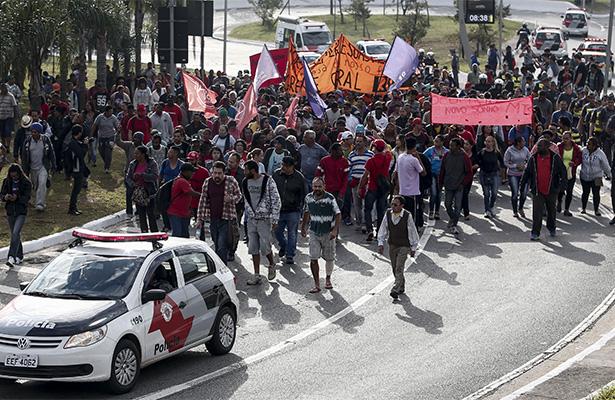 Organizan huelgas y protestas en Brasil contra reformas de Temer