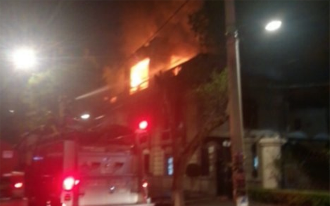 [Videos] Se incendia la Universidad de Londres en la Roma