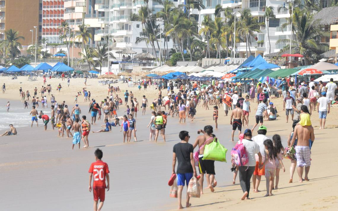 Repunta ocupación hotelera en Acapulco