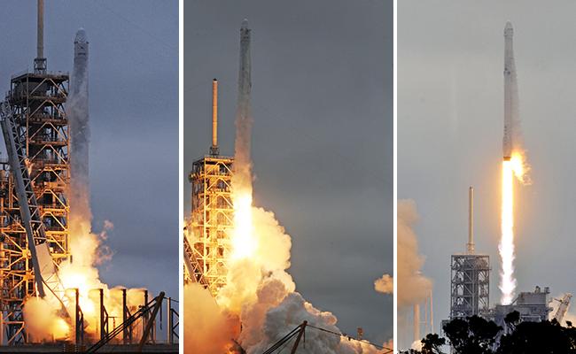 ¡Sí se pudo! Lanzan con éxito cohete de SpaceX desde plataforma de la NASA
