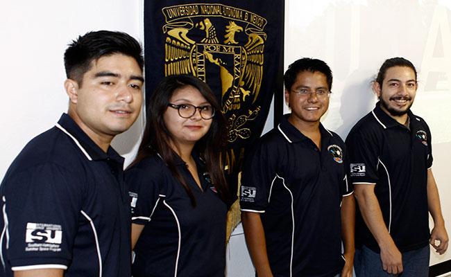 Estudiantes de la UNAM desarrollan robot para explorar Marte
