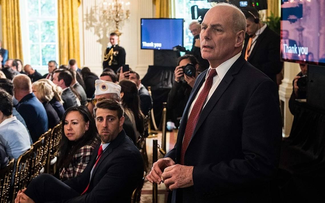 """John Kelly llama """"idiota"""" a Trump segA?n NBC News"""