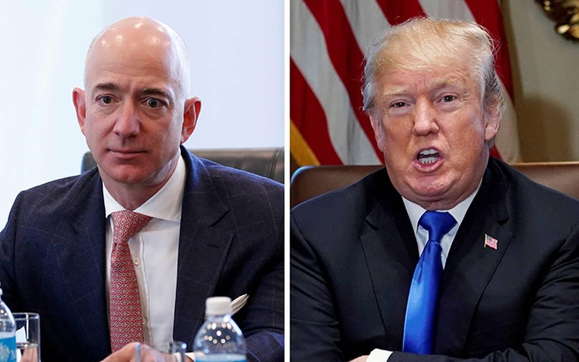 """Trump exige al servicio postal a cobrarle """"mucho más"""" a Amazon"""