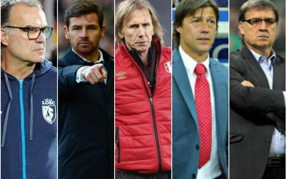 Los cinco candidatos para dirigir al Tri