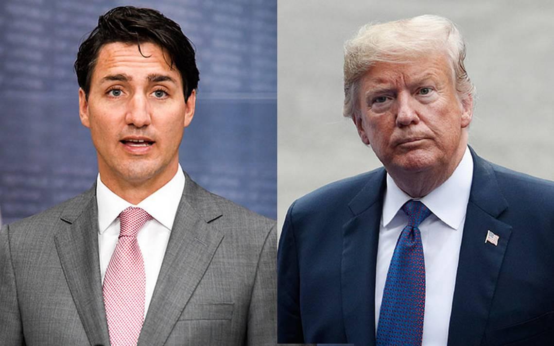 Triunfo de AMLO cambia la dirección del TLCAN: Trump y Trudeau