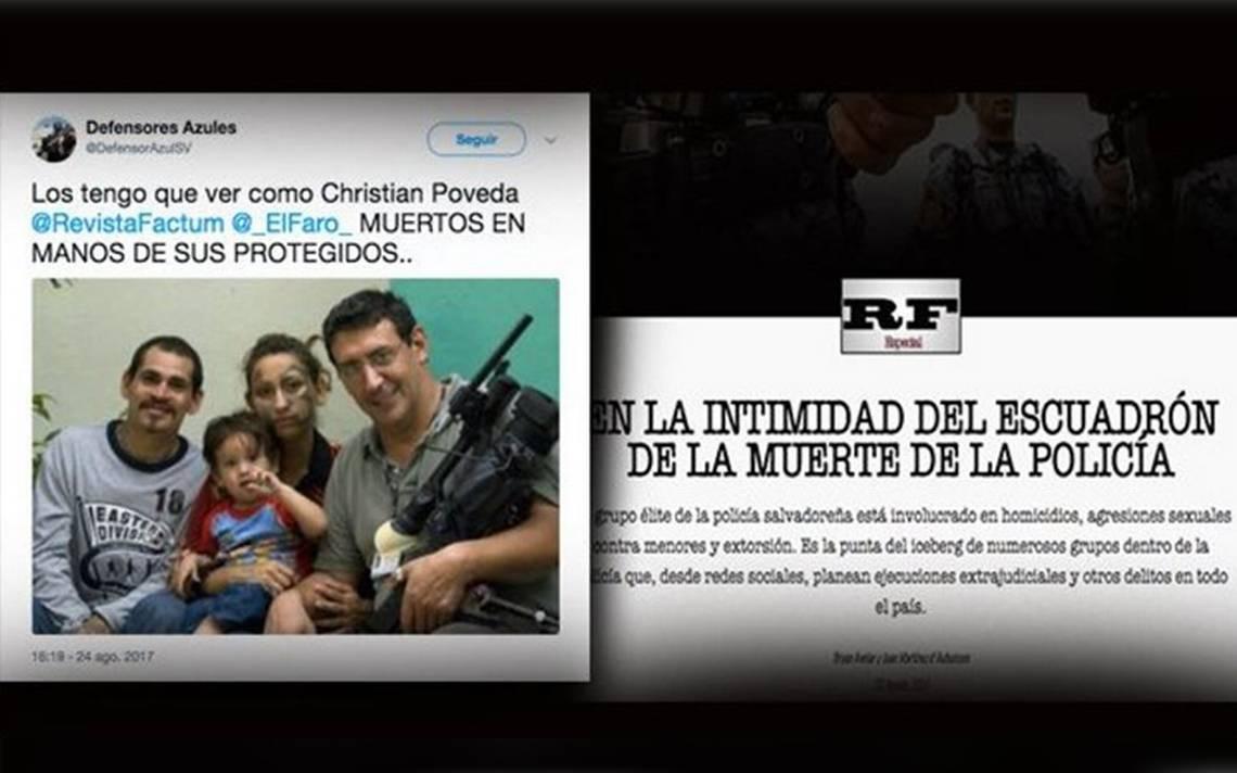Periodistas de El Salvador bajo amenaza por denunciar a abuso policial