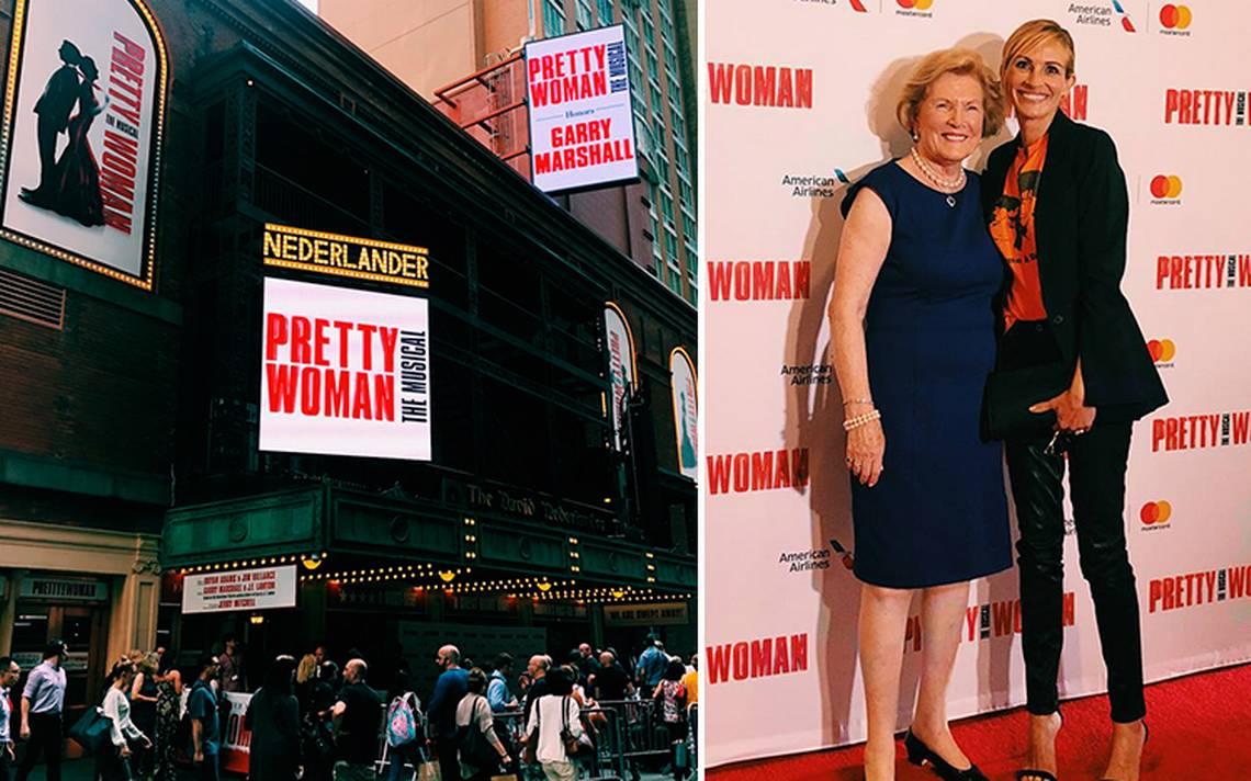 Presentan Pretty Woman: The Musical en Broadway y ¡Julia Roberts asiste!
