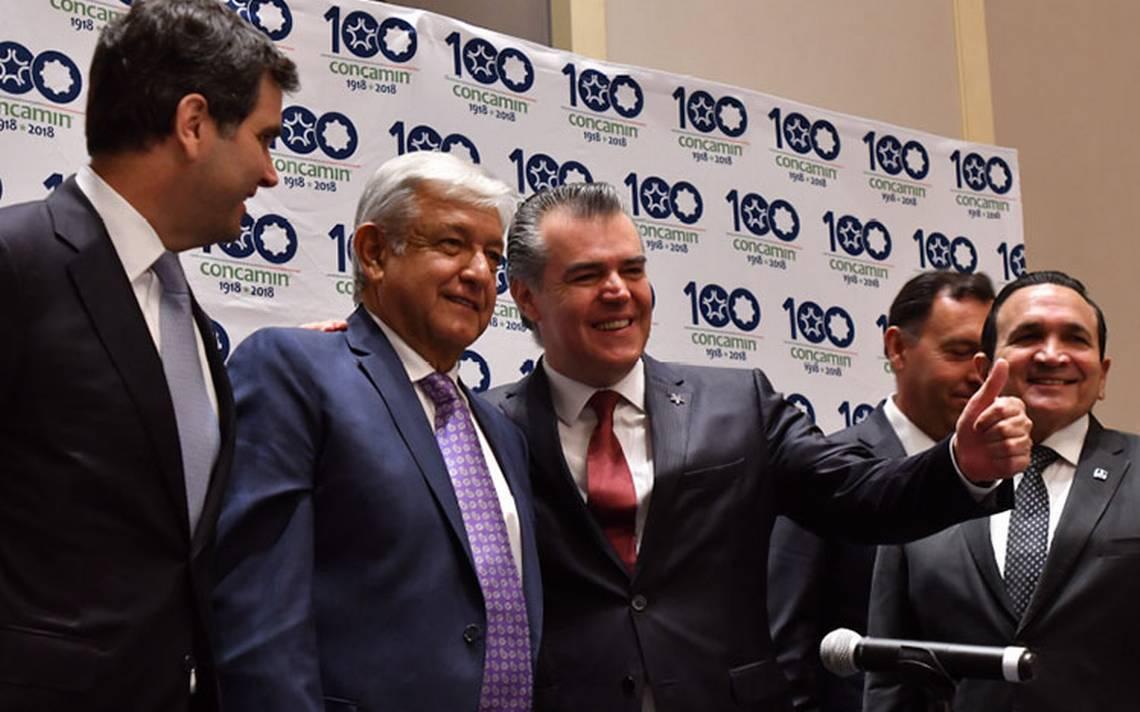 Empresarios arropan a Andrés Manuel López Obrador