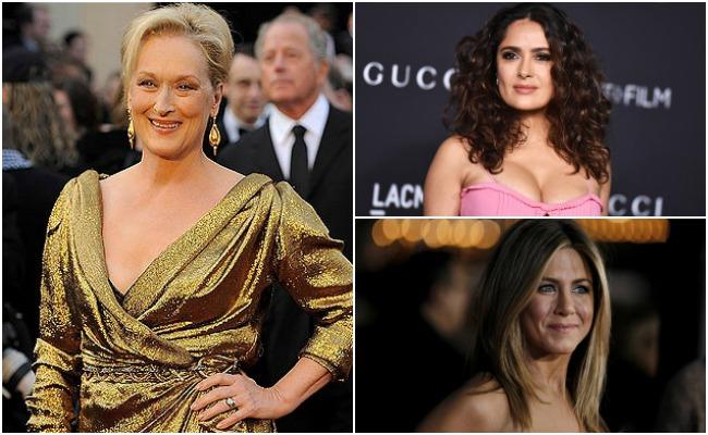 Salma Hayek y Meryl Streep, entre los presentadores de los Oscar