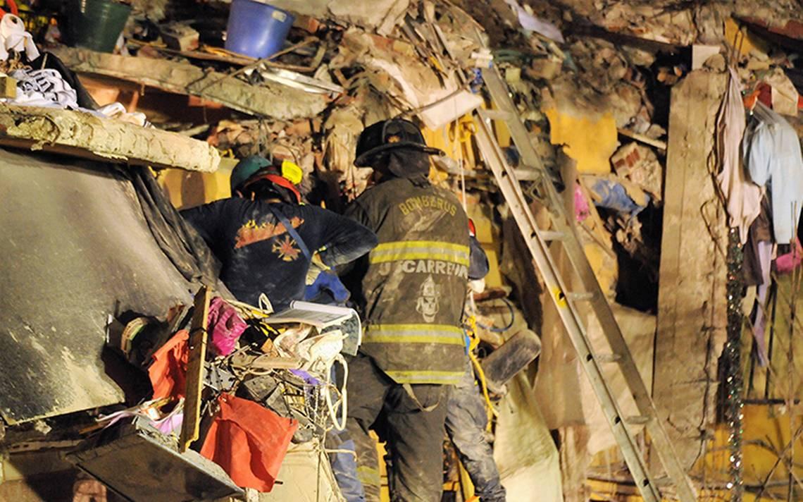 Suman 331 muertos por sismo del 19 de septiembre