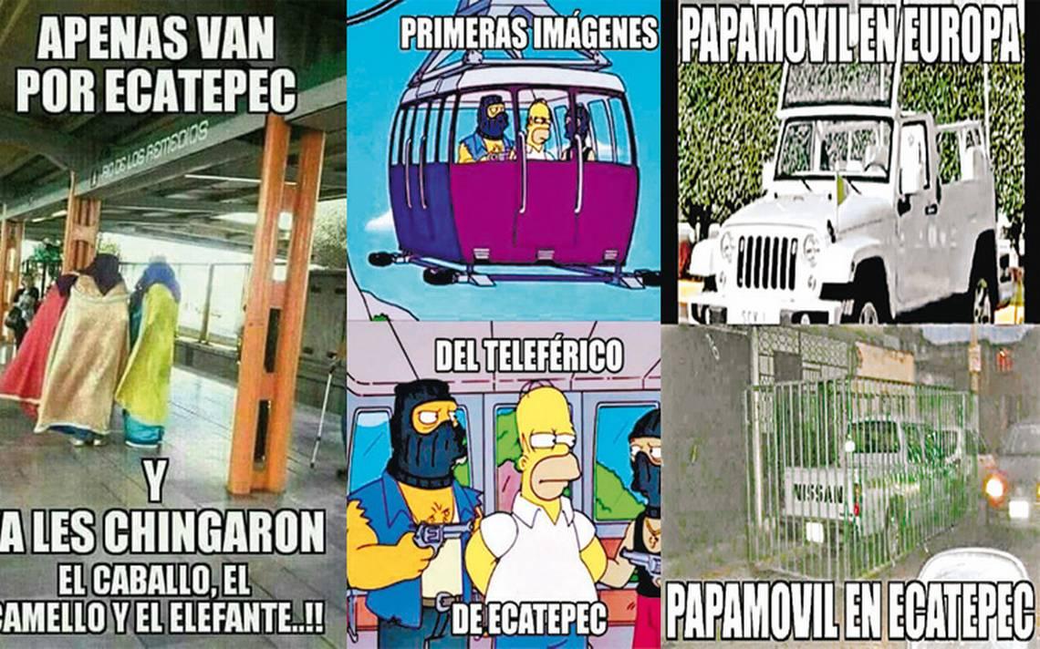 Memes, válvula de escape para Ecatepec