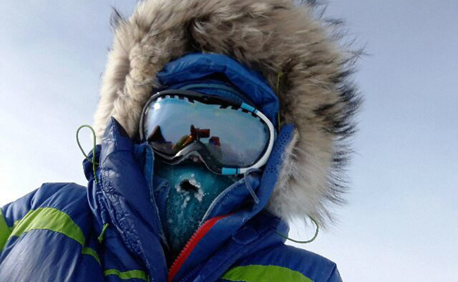 Polaca llega al Polo Sur… ¡a pie!