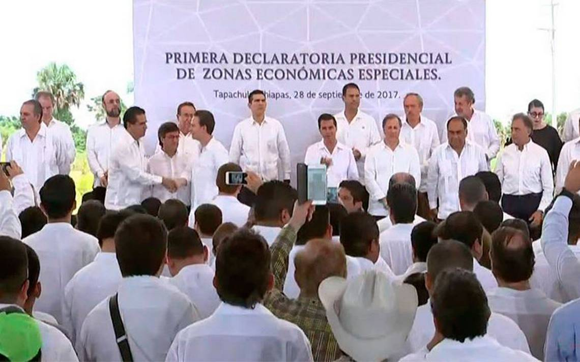 Peña Nieto emitirá Primera Declaratoria Presidencial de ZEE