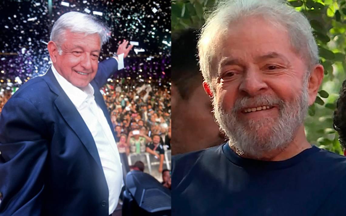 Lula manda mensaje desde la cárcel a AMLO