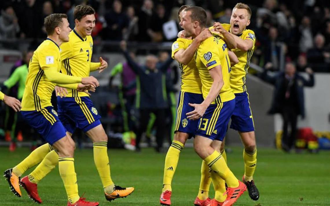 Suecia saca ventaja mínima en la ida del repechaje ante Italia