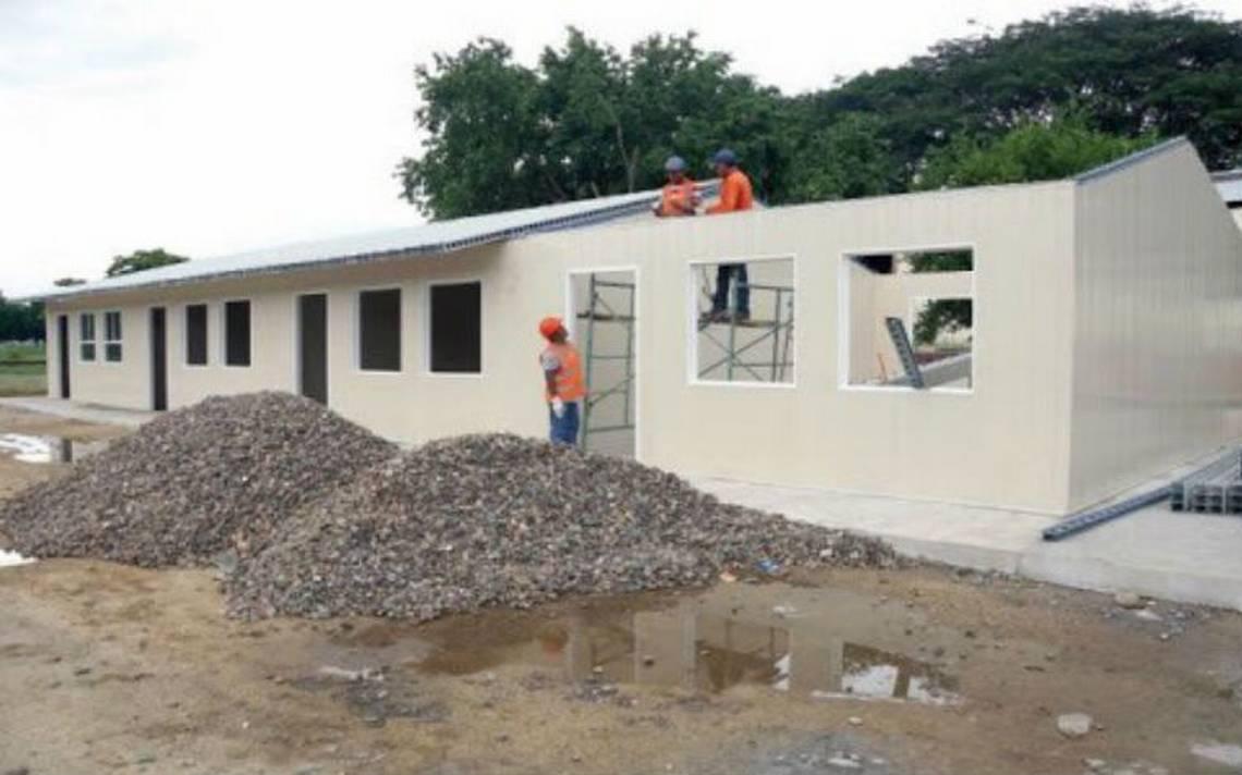 En aulas provisionales iniciarán clases en Juchitan