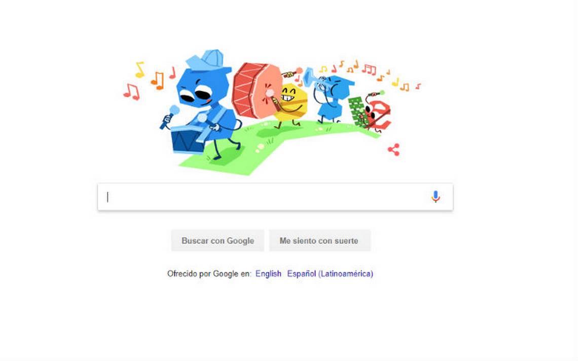 Google celebra el DA�a del NiA�o con doodle animado