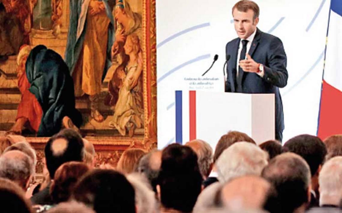 Europa debe emanciparse de Estados Unidos: Macron