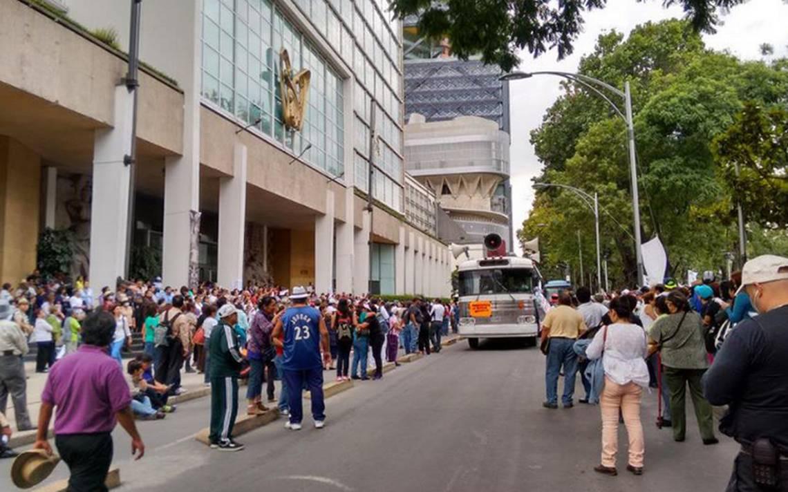 Sindicato del IMSS prepara marcha en la CDMX y en 6 ciudades del país