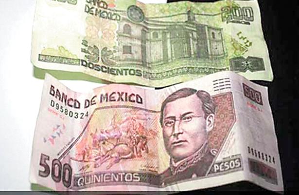 Alerta en Edomex por mayor circulación de billetes falsos