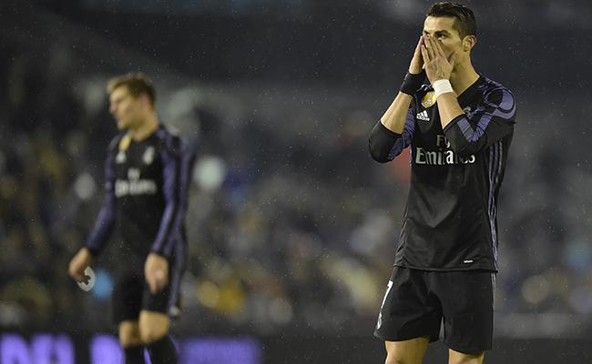 Real Madrid es eliminado de la Copa del Rey por el Celta