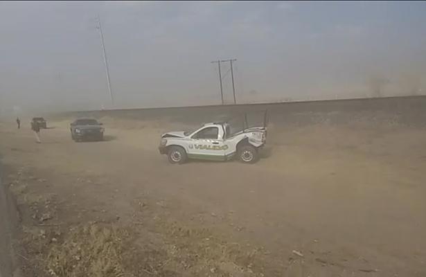 Cierran carretera a Ciudad Juárez por tolvaneras