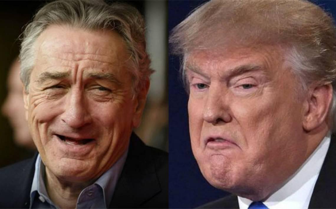 """Robert De Niro arremete otra vez contra Trump y lo llama """"idiota"""""""
