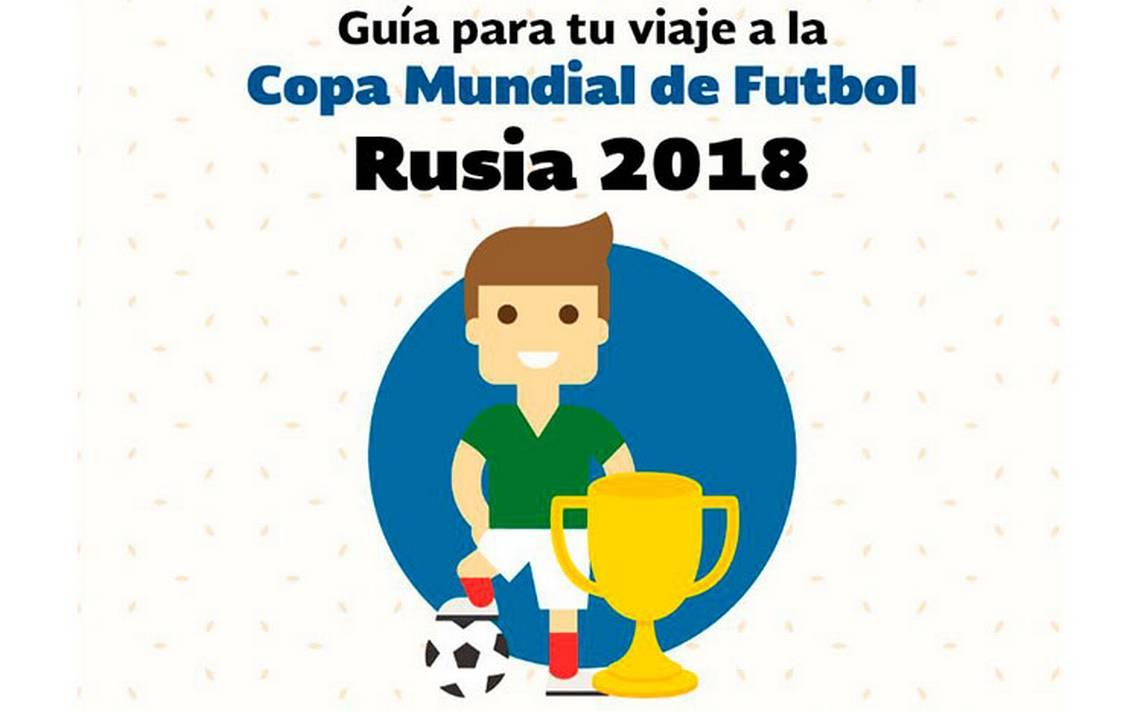 Si vas al Mundial de Rusia, conoce el Manual de Viaje