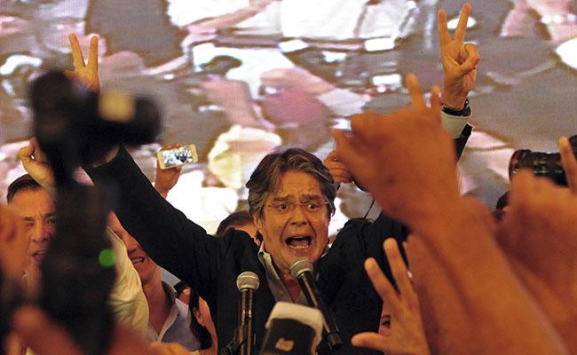 No vamos a reconocer los resultados ilegítimos en Ecuador: Guillermo Lasso