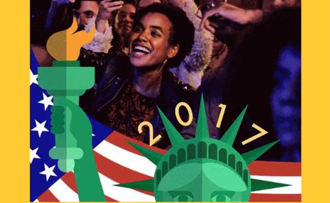 Twitter comienza la celebración de Año Nuevo con nuevos stickers