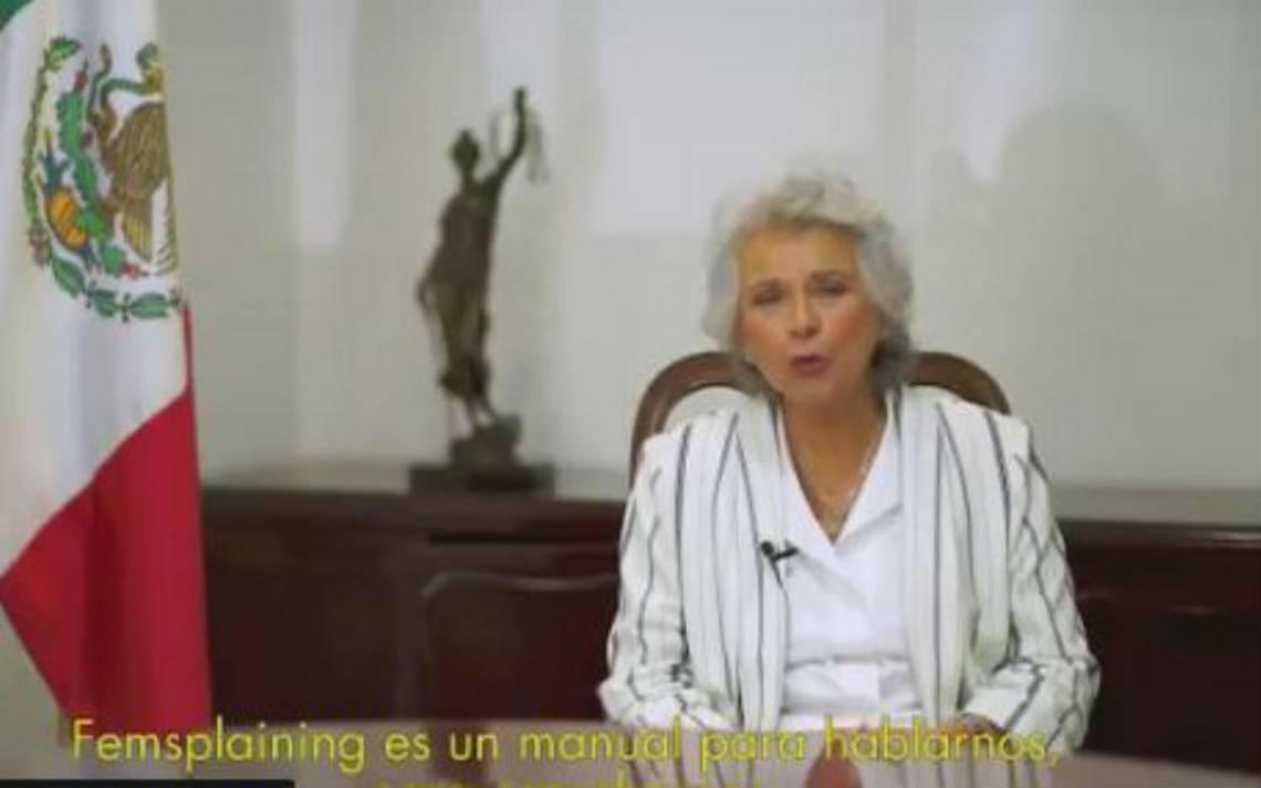 Ex ministra Olga Sánchez explica propuestas de Morena