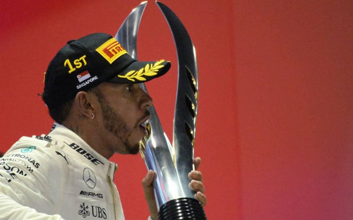 Hamilton, nuevo monarca de Gran Premio de Singapur