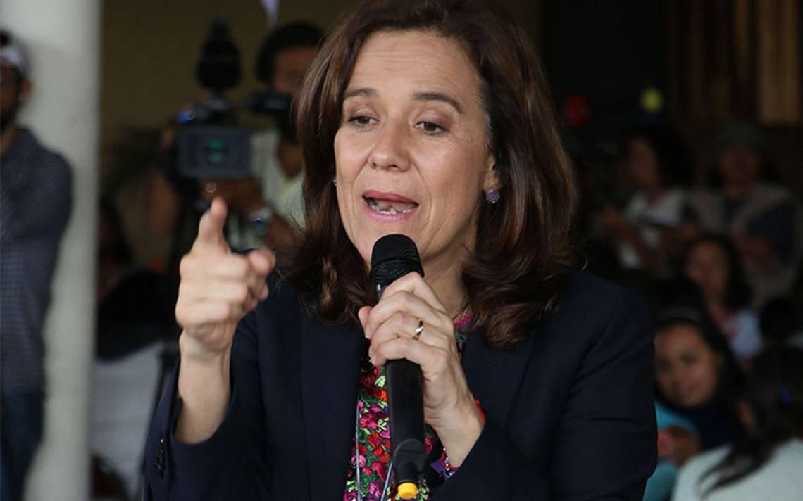Zavala pide garantizar seguridad a candidatos más expuestos