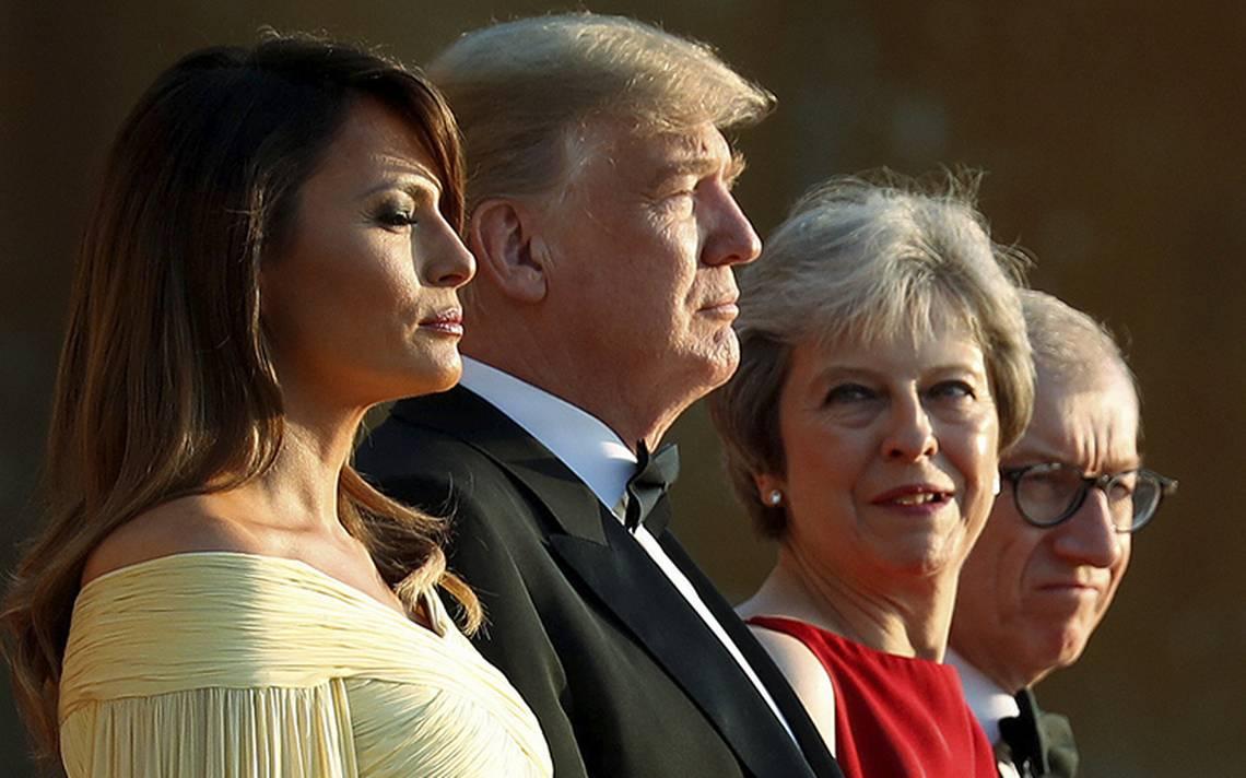May propone a Trump acuerdo comercial con EU tras Brexit
