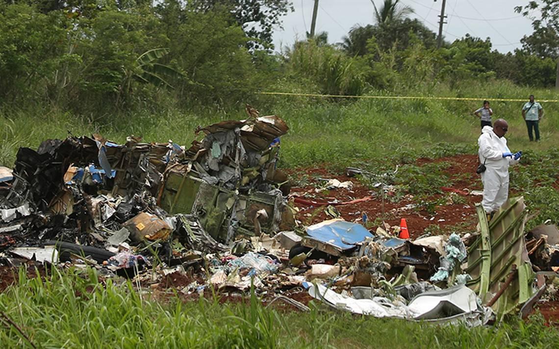 Cuba decreta dos días de duelo por accidente de avión