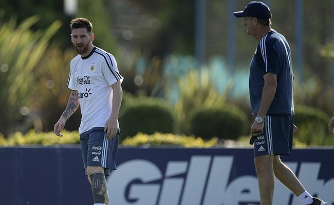 Dupla ofensiva Lionel Messi y Sergio Agüero