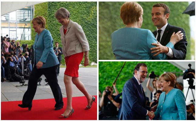 """Merkel alerta sobre el """"proteccionismo"""" y el """"aislacionismo"""" antes del G20"""