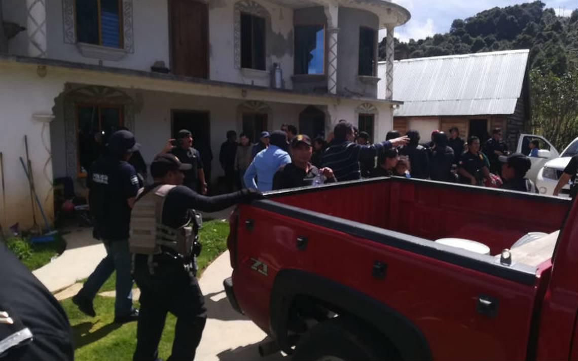 Rescatan a 22 migrantes secuestrados en Chiapas
