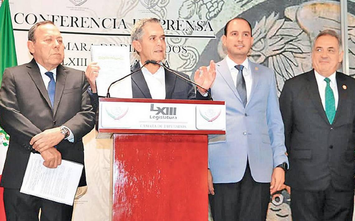 Miguel A?ngel Mancera presenta propuesta de Gobierno de coaliciA?n