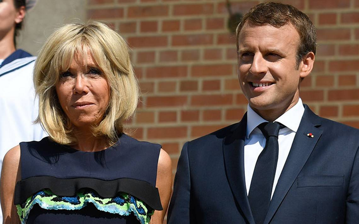 Brigitte Macron arrasa al ser portada de revista Elle