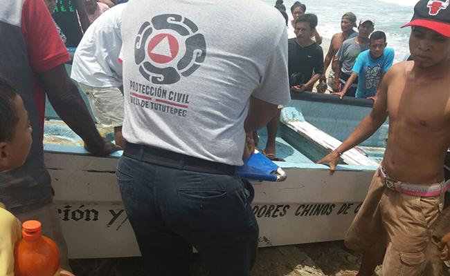 Turista muere ahogado en la costa de Oaxaca