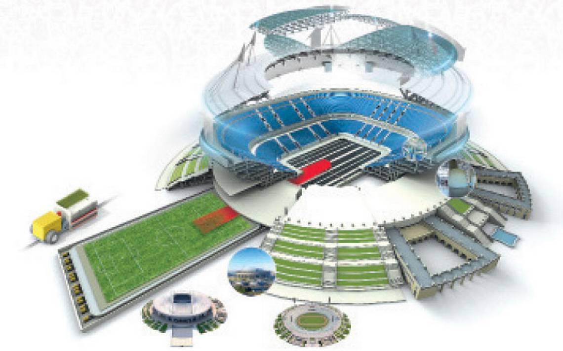 Templos del futbol: Así luce el polémico estadio San Petersburgo