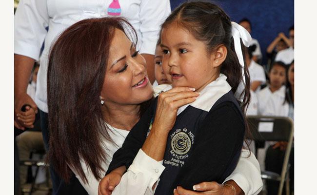 DIF Puebla recibe a cuatro niños repatriados