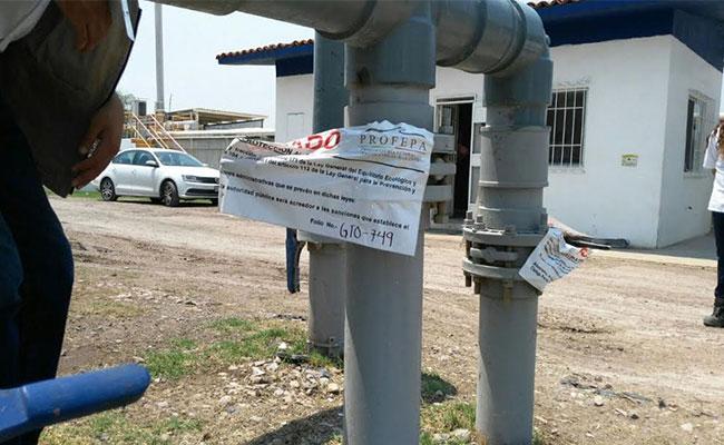 Clausura Profepa a Lala por contaminar río Temascatío