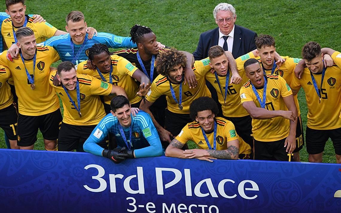 Bélgica vence a Inglaterra y se queda con el tercer lugar del Mundial Rusia 2018